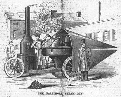 Avant le système PCA et le CO², le Steam Gun Steamgun